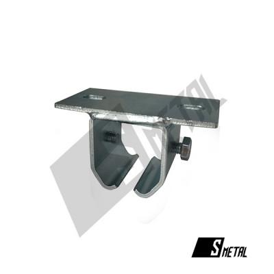 Accesoriu fixare sina poarta suspendata, Smetal,  Latime: 120mm